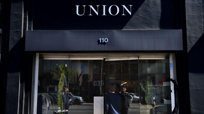 Union Hype Store direkt in der Nähe der Grove (Los Angeles)