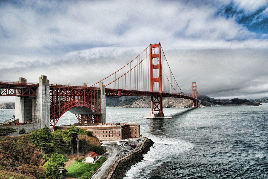 View Point Golden Gate Bridge Aussichtspunkt Fotos Parkplatz